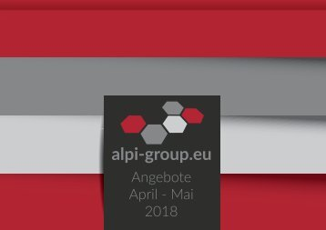 Angebote April-Mai 2018