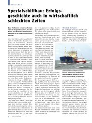 Lay bw 1/07 - Deutscher Boots- und Schiffbauer-Verband