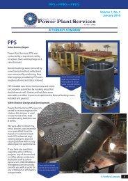 Power Plant Services Newsletter Jan. 2018