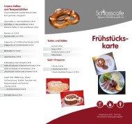 Frühstücken im Schlosscafe Beuren - Restaurant, Café, Konditorei