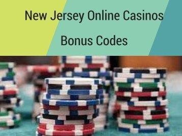 New Jersey Online Casinos Bonus Codes