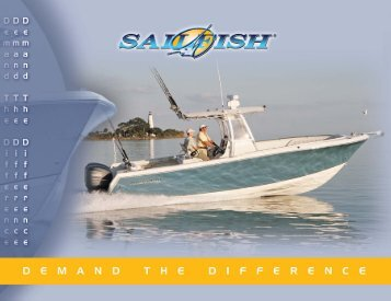 gunwale height - Sailfish Boats