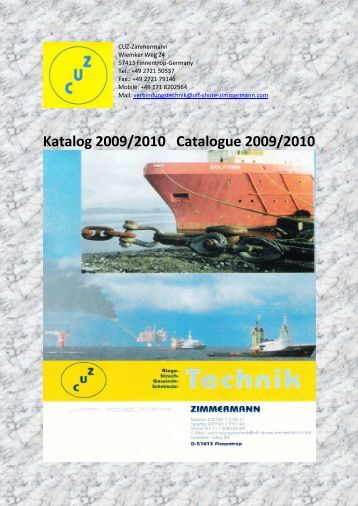Katalog 2009/2010 Catalogue 2009/2010