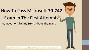 70-742 Exam Dumps