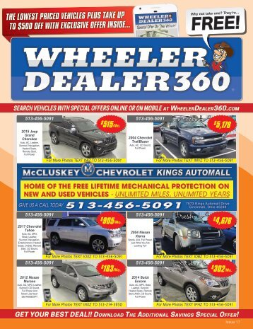 Wheeler Dealer 360 Issue 17, 2018