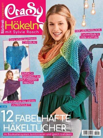 CraSy Haekeln mit Sylvie Rasch - 12 fabelhafte Tuecher (HS001)