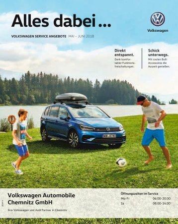 VW Automobile Chemnitz - Mai-Juni | 2018