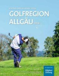 Golfregion Allgäu 2018