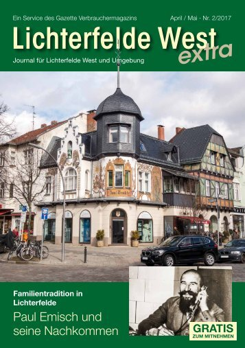 Lichterfelde West extra APR/MAI 2017