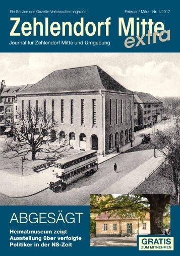 Zehlendorf Mitte extra FEB/MRZ 2017