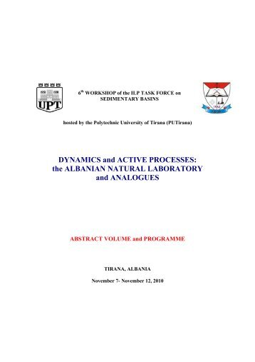 DYNAMICS and ACTIVE PROCESSES - International Lithosphere ...