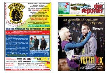 der reporter - Das Familienwochenblatt für Fehmarn 2011 KW 34