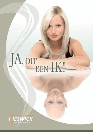 Rieswick Zweithaar-Manufaktur Imagebroschüre NL