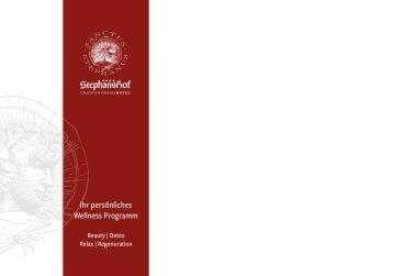 Wellness-Katalog - Granpanorama Hotel StephansHof ****