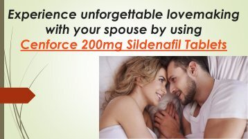Buy Cenforce 200 150 mg Tablets Online to hold Harder Erections during your Intimacy