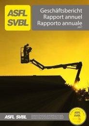 ASFL SVBL Geschäftsbericht 2017