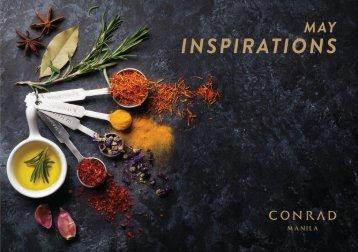 Inspirations May 2018