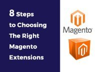 8 steps to choose right magento extension