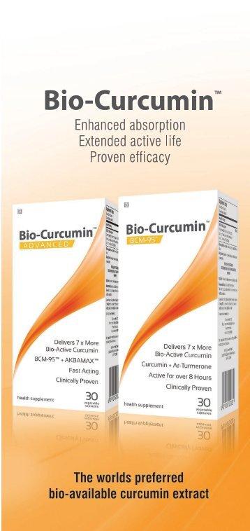 Coyne Healthcare Bio-Curcumin Leaflet