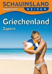 SCHAUINSLAND GriechenlandZypern So11