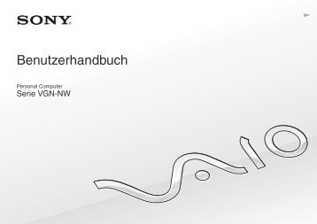 Sony VGN-NW20ZF - VGN-NW20ZF Mode d'emploi Allemand