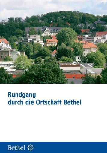 Rundgang durch die Ortschaft Bethel - v. Bodelschwinghsche ...