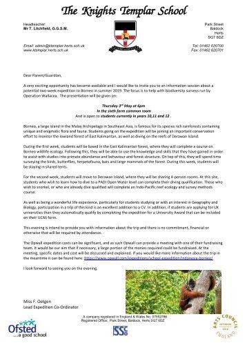 Borneo Information Letter 2019