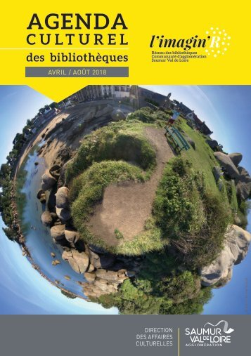 Agenda culturel des bibliothèques avril-août 2018