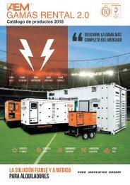 2018 - Catálogo AEM Gamas Rental 2.0 - ES