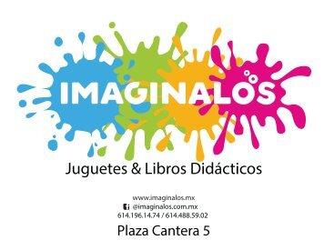 Catálogo Imagínalos - Abril 2018
