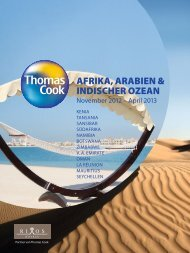 THOMASCOOK AfrikaArabienIndischerOzean Wi1213