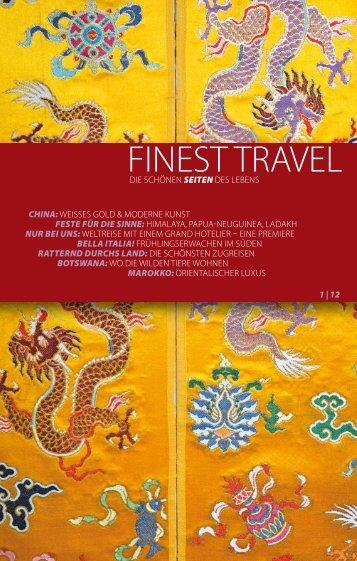 WINDROSE FinestTravelAusgabe1 2012