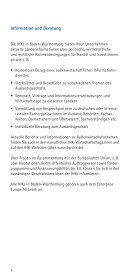 13. November 2009 Wir servieren Ihnen Auslandsmärkte - Baden ... - Seite 6