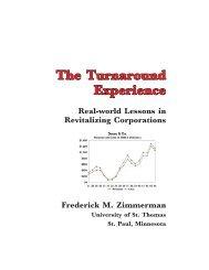 The Turnaround Experience - CRS Turnaround Management