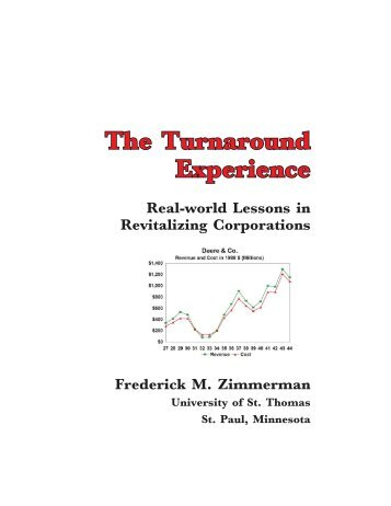 The Turnaround Experience - CRS Turnaround Management