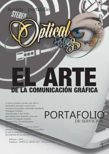 REVISTA OPTICAL ARTES 2018