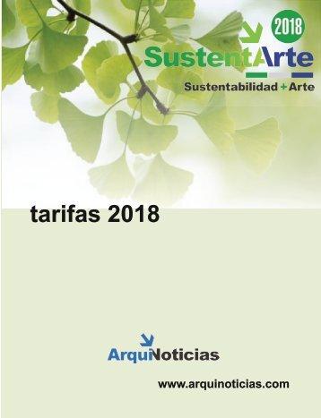 tarifario SustentArte abril 2018