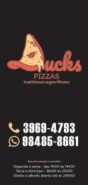 Cardápio Ducks Pizzas