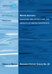 Water neutral - Water Footprint Network
