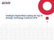 Intelligent Digital Mesh Leading the Top 10 Strategic Technology Trends for 2018