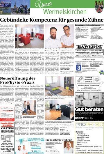 Unser Wermelskirchen  -26.04.2018-