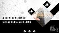 4 Advantages of Social Media Marketing