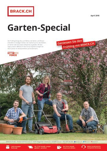 BRACK.CH Garten-Special 2018