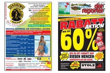 der reporter - Das Familienwochenblatt für Fehmarn 2011 KW 31