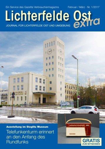 Lichterfelde Ost extra FEB/MRZ 2017