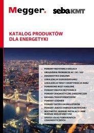Katalog MEGGER energetyka