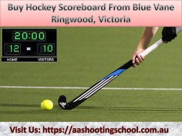 Buy Hockey Scoreboard Blue Vane, Ringwood, Victoria