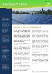 Newsletter Q4 2009 - BWI GmbH