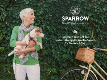 SPARROW CannaPet Firmenbroschüre