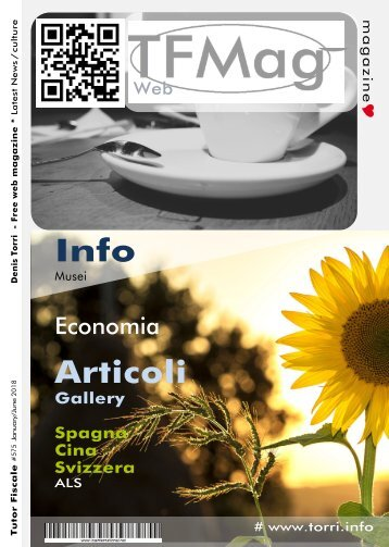 T.F. Free Web Magazine 2018 - Denis Torri